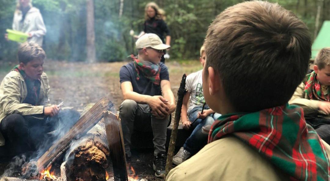 Kampvuur Scouting Krommenie